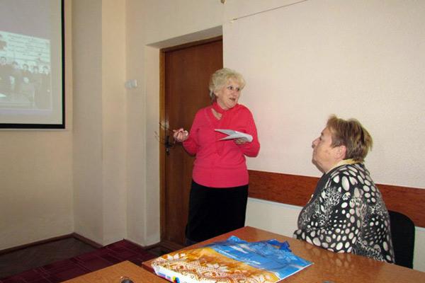 Наталія Штайнеккер - голова первинної профспілкової організації Ніжинської ЗОШ № 13