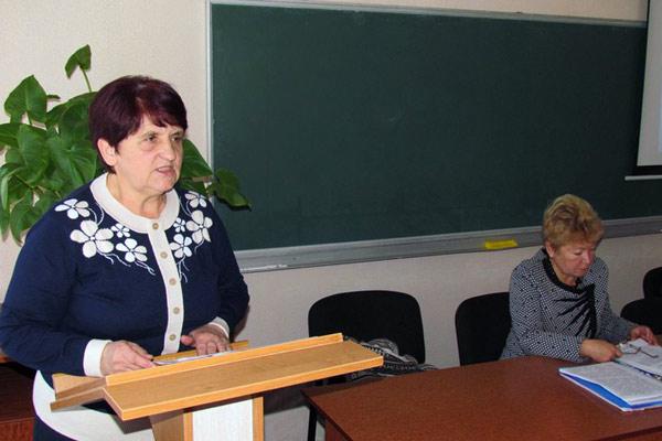 Віра Савченко - голова Ічнянської районної організації Профспілки працівників освіти і науки України