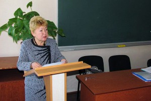 Тетяна Матвеєва — голова обласної організації Профспілки працівників освіти і науки України