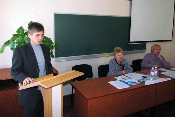 Геннадій Мироненко - голова Городнянської районної організації Профспілки працівників освіти і науки України