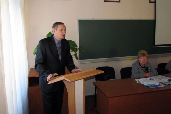 Віктор Кулагін - голова Менської районної організації Профспілки працівників освіти і науки України