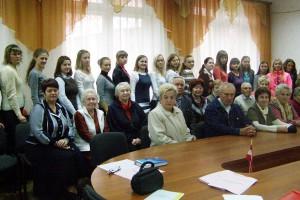 В Чернігівській міській організації Профспілки підтримують зв'язок поколінь