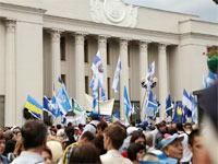 17 листопада – пікетування Верховної Ради України