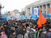 Профспілки вимагають гідного життя для людей: всеукраїнська акція протесту