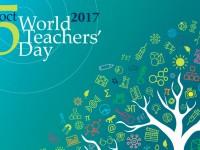 Вітаємо педагогів області зі Всесвітнім днем вчителя