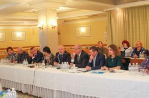 Предметна розмова на засіданні президії ЦК Профспілки