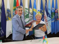 Підписано договір про міжнародну співпрацю