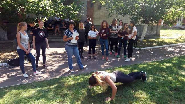Профспілкове студентство - за здоров'я молодого покоління!