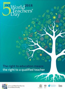 Голос солідарності вчителів в усьому світі!