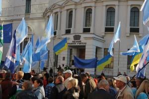 Освітяни Чернігівщини солідарні з протестом профспілок у Києві