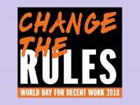 Всесвітній день дій за гідну працю: змінити правила