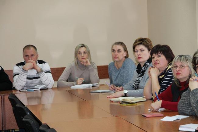 Навчається профспілковий актив освітян міста Ніжина