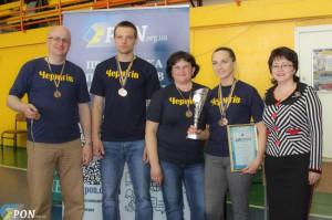 Чернігівські освітяни в черговий раз відзначилися на Всеукраїнських змаганнях з настільного тенісу